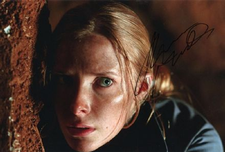 Shauna Macdonald, The Descent, signed 12x8 inch photo.(2)